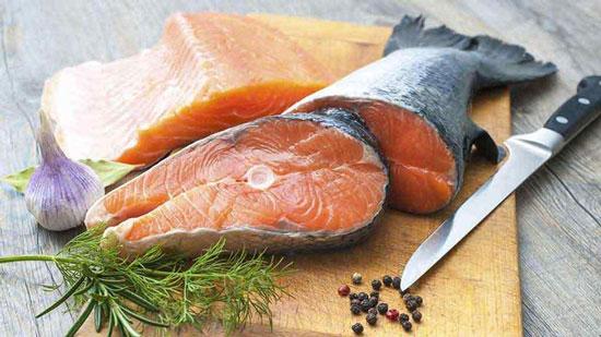 گوارگام در غذای ماهی ها