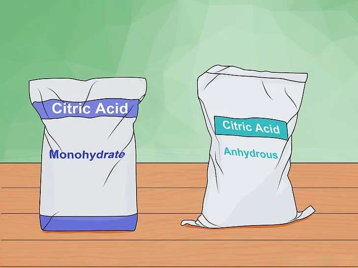 خرید اسید سیتریک خشک و اسید سیتریک آبدار