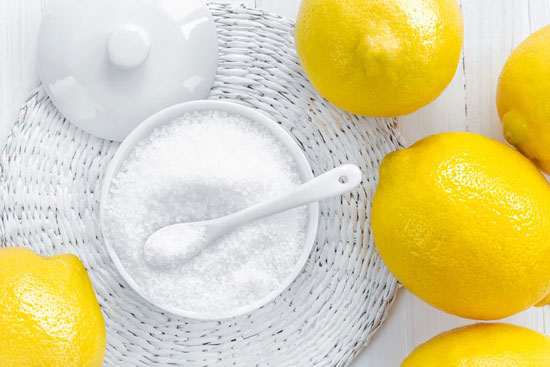 اسید سیتریک تولید شده از لیمو