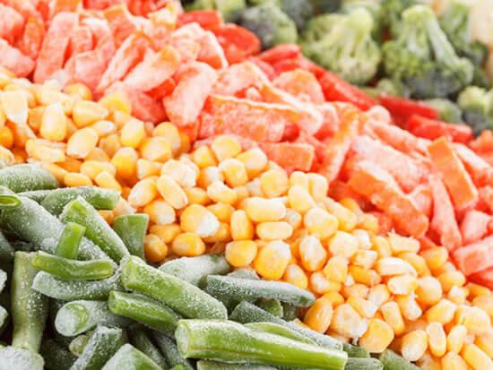 گوارگام در محصولات غذایی منجمد