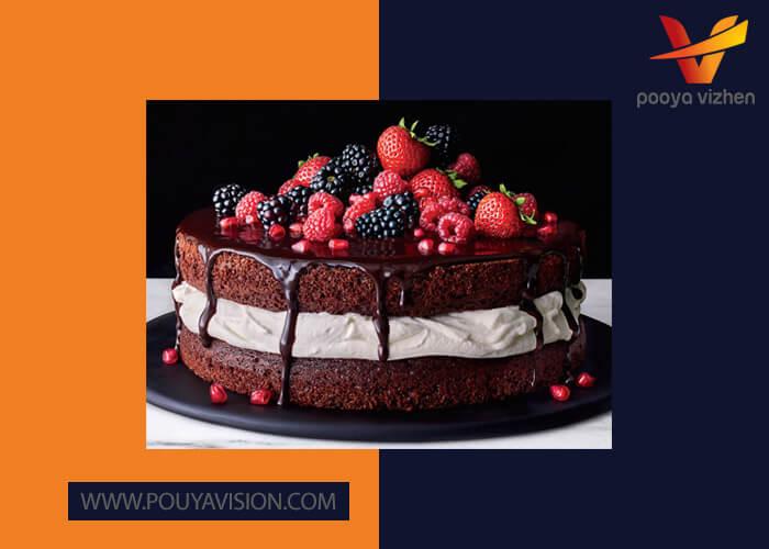 گوارگام در کیک