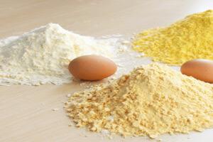 استفاده از لسیتین تخم مرغ در کاستارد