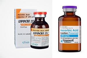 دوز مصرفی ویتامین C (اسید اسکوربیک)
