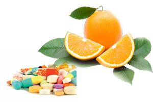 اسید اسکوربیک در مکمل های غذایی