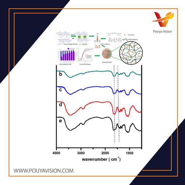 کربوکسی متیل سلولز و پیامدهای آن برای فعالیت آنتی اکسیدانی کورکومین