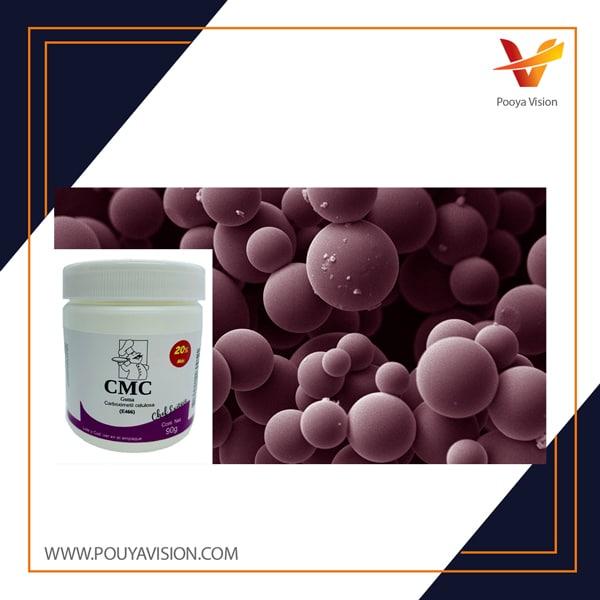 پراکندگی های میکروبی و کربوکسی متیل سلولز برای تحویل کولون وانکومایسین